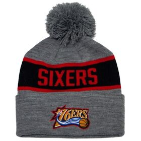 Mitchell & Ness Philadelphia 76ers Team Tone Knit Basketball Beanie