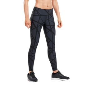 2XU Print Mid-Rise Womens Compression Tights