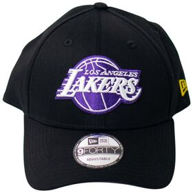 New Era Los Angeles Lakers 9Forty Team Stripes Basketball Cap