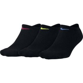 Nike Everyday Cushion Womens No-Show Socks - 3 Pack
