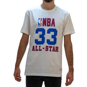 Mitchell & Ness Larry Bird NBA All-Star East Mens Basketball T-Shirt