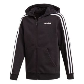 Adidas Essentials 3-Stripes Full Zip Kids Hoodie