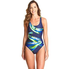 Zoggs Ecolast+ Power Actionback Womens One Piece Swimsuit