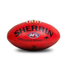 Sherrin KB Synthetic Rubber AFL Kids Football - Size 3
