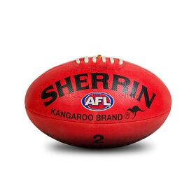 Sherrin KB Synthetic Rubber AFL Kids Football - Size 2
