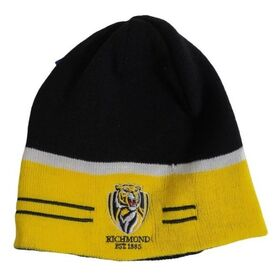 Burley Sekem Richmond Tigers AFL Reversible Football Beanie