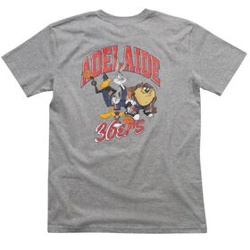 First Ever Adelaide 36ers Looney Tunes Classic Mens Basketball T-Shirt
