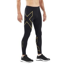 2XU MCS Light Speed Run Mens Compression Tights With Back Storage