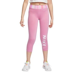 Nike One Capri Kids Girls Training Tights