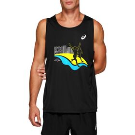 Asics City-Bay 2020 Mens Running Tank Top