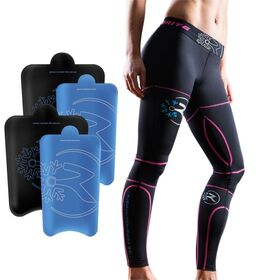Recoverite Womens Ice Recovery Compression Tights Kit