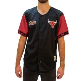 Mitchell & Ness Chicago Bulls Pure Shooter Mesh Mens Basketball T-Shirt