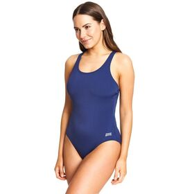Zoggs Ecolast+ Cottesloe Powerback Womens One Piece Swimsuit