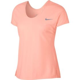 Nike Miler Soft X Back Womens Running T-Shirt