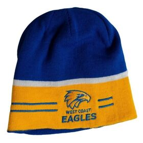 Burley Sekem West Coast Eagles AFL Reversible Football Beanie
