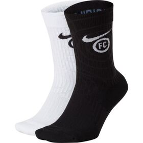 Nike F.C SNKR Sox Essential Soccer Socks - 2 Pack