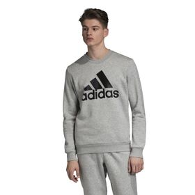 Adidas Badge Of Sport Fleece Crew Mens Sweatshirt