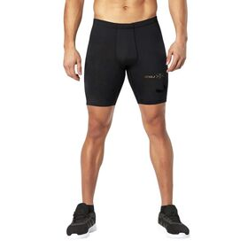 2XU MCS Mens Football/Soccer Compression Half Shorts