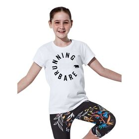 Running Bare Hear Me Roar Kids Girls T-Shirt