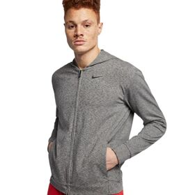 Nike Dri-Fit Full Zip Mens Yoga Training Hoodie