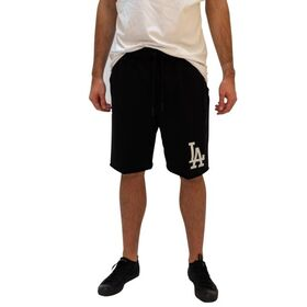 Majestic Athletic Los Angeles Dodgers Raw Edge Fleece Mens Baseball Shorts