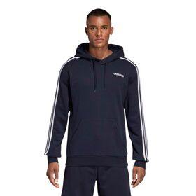 Adidas Essentials 3-Stripes Pullover Mens Hoodie